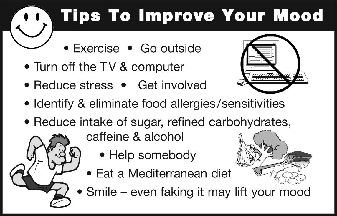 TipsToImproveYourmood CHART